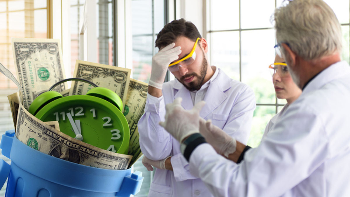 Numbers Don't Lie: Pharma Lab Inefficiencies Come at a High Cost